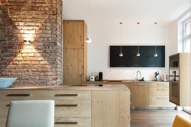loft i contemporary kitchen frankfurt by. Black Bedroom Furniture Sets. Home Design Ideas