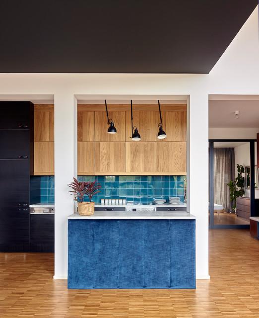 Wunderbar Loft In Berlin Contemporary Kitchen