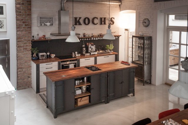 loft in wien industrial k che sonstige von noodles noodles noodles corp. Black Bedroom Furniture Sets. Home Design Ideas