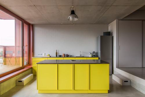 Oben ohne! Die 10 schönsten Küchen ohne Oberschränke