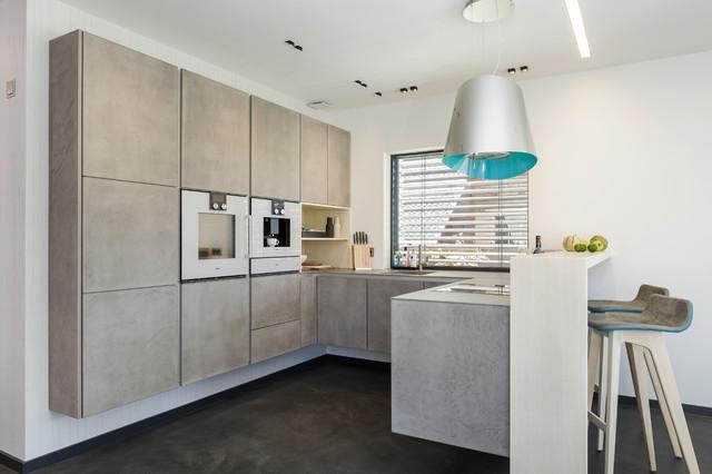 luxhaus contemporary kitchen munich by zeitraum. Black Bedroom Furniture Sets. Home Design Ideas