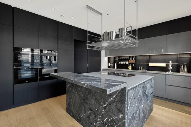 Luxus Penthouse Maisonette Berlin Mitte - Modern - Küche ...