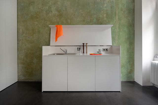 mini apartment modern k che berlin von jan r sler. Black Bedroom Furniture Sets. Home Design Ideas