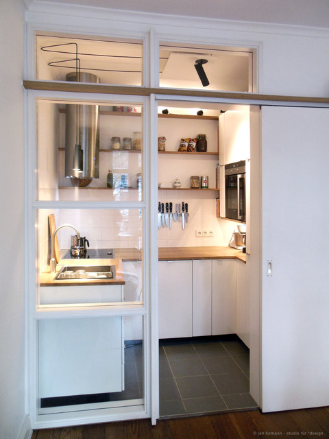 Miniküche einrichten  Miniküche - Modern - Küche - Hamburg - von studio jan homann