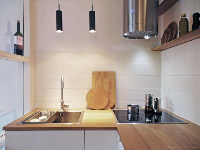 Miniküche Contemporary Kitchen Hamburg by studio