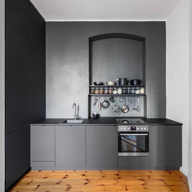 Minimalistische Küche für eine berliner Altbauwohnung ...