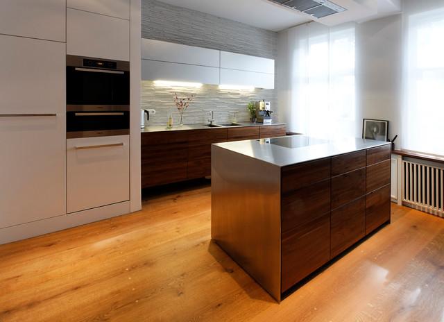 mittelblock / kitchen island - modern - küche - hamburg - von plan ... - Küche Mittelblock