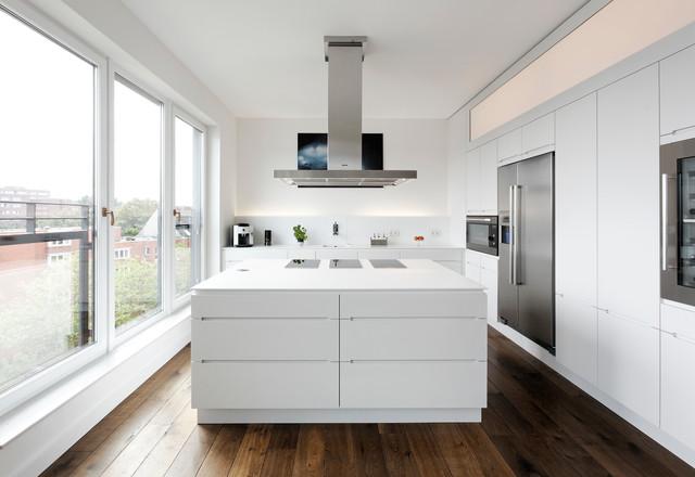 Küchenzeile Mit Side By Side Kühlschrank : Mittelblock kitchen island modern küche hamburg von