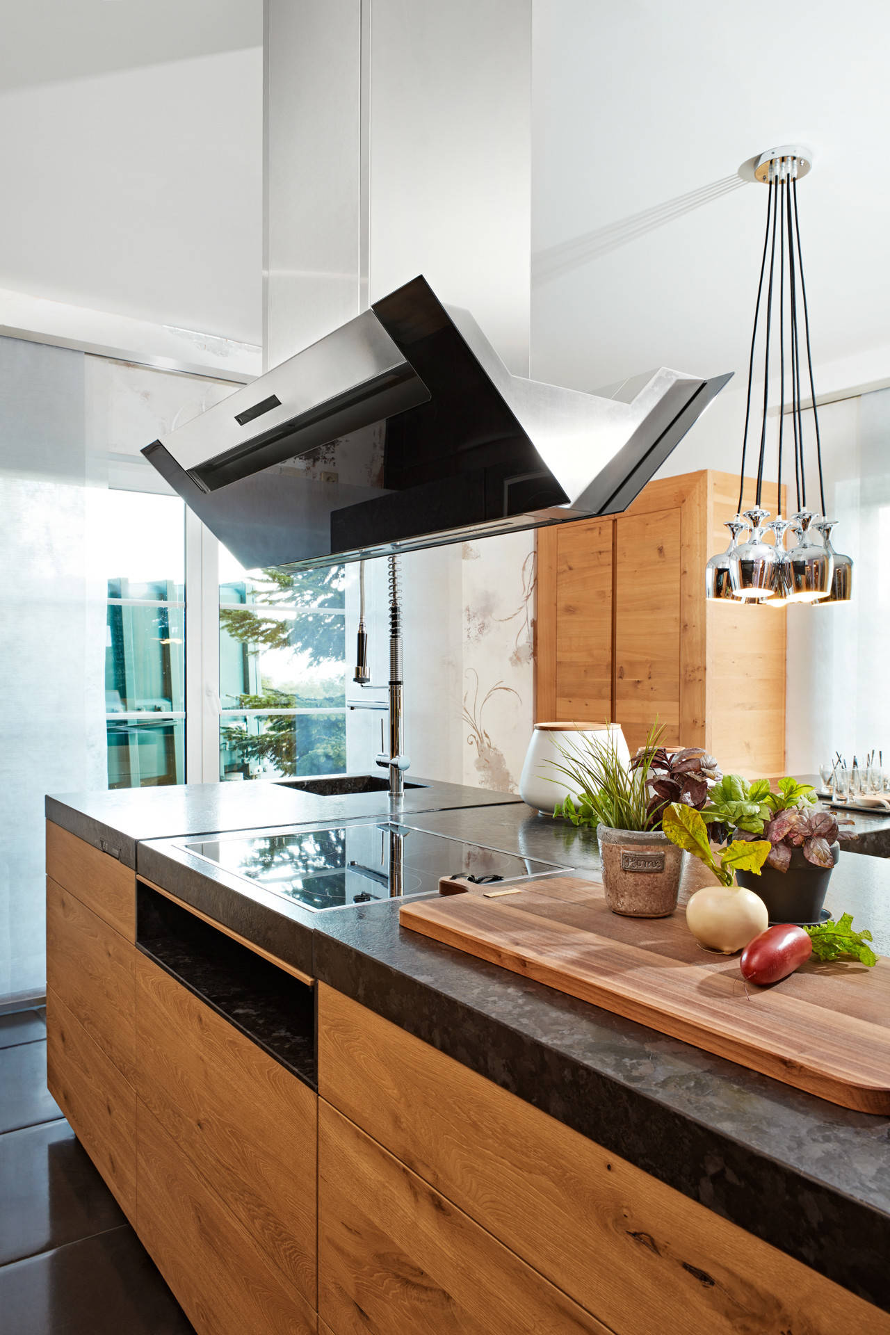 75 Beautiful Kitchen With Light Wood Cabinets And Granite Countertops Pictures Ideas November 2020 Houzz
