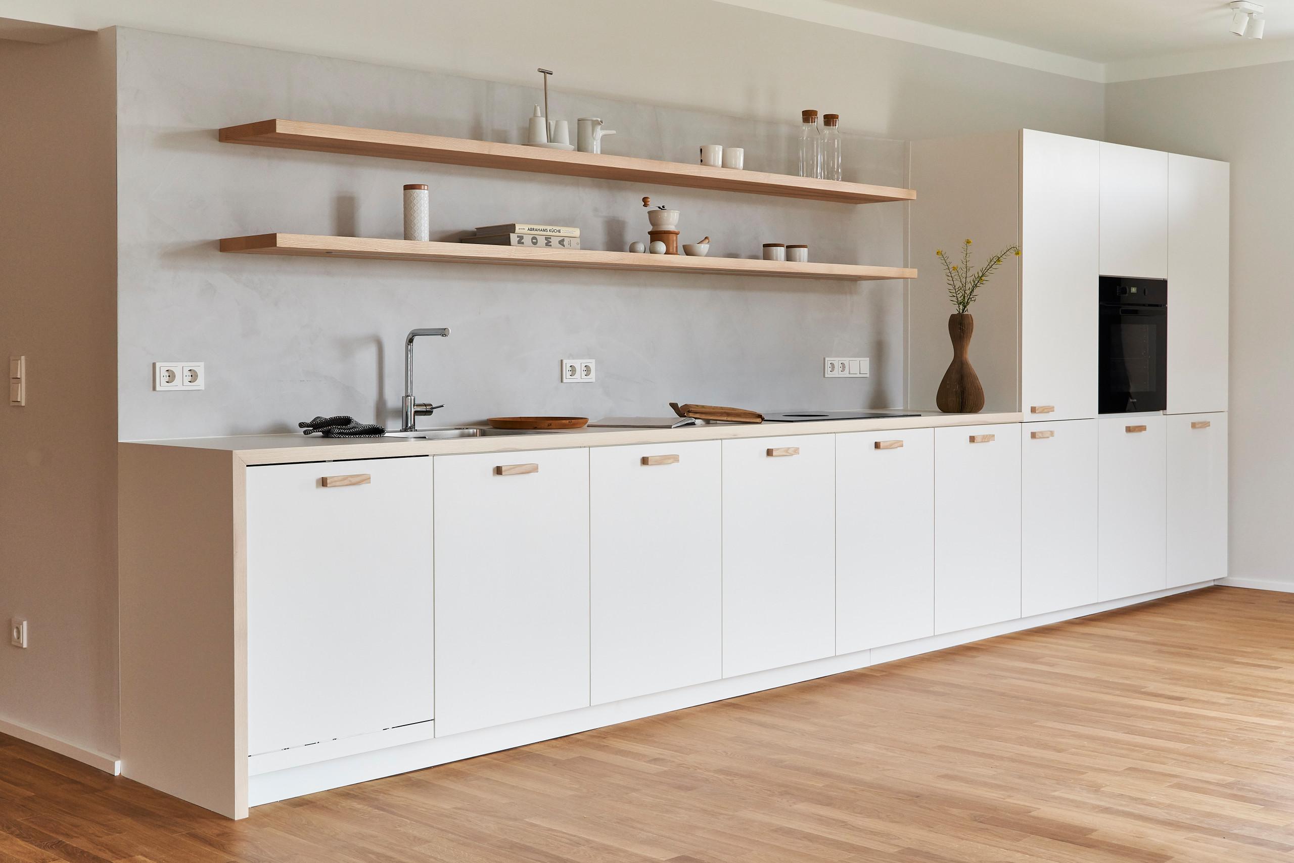 Moderne Küche Schreinerarbeit