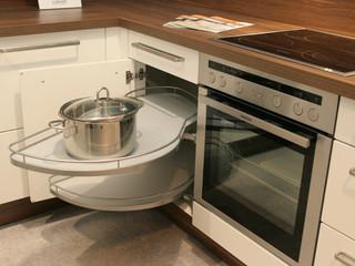 moderne l sungen auf kleinem raum moderne winkelk che modern k che essen von kochen. Black Bedroom Furniture Sets. Home Design Ideas