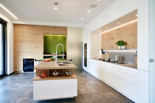 Wohnküche Frankfurt moderne villa mit skybar weinkeller und großzügiger wohnküche