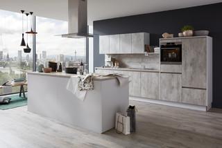 musterring k che mr2850 farbe beton natur industrial k che d sseldorf von k chen. Black Bedroom Furniture Sets. Home Design Ideas