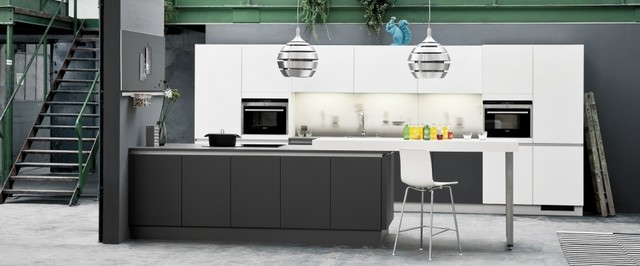 Nolte Glas Tec Satin Contemporary Kitchen Other By Kuchen Areal