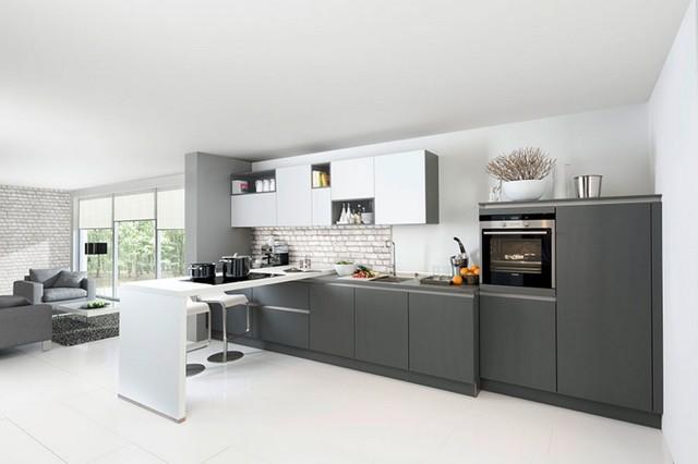 Nolte Quarzgrau Tec Satin - Contemporary - Kitchen - Other - by ...