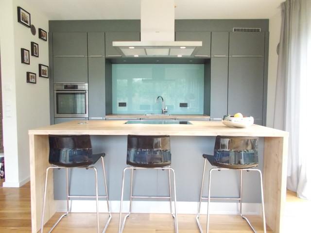 offene Küche mit Kochinsel - Modern - Küche - Hamburg - von ...
