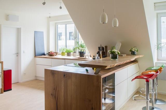 Offene Küchen mit Tresen - Modern - Küche - Hannover - von ...