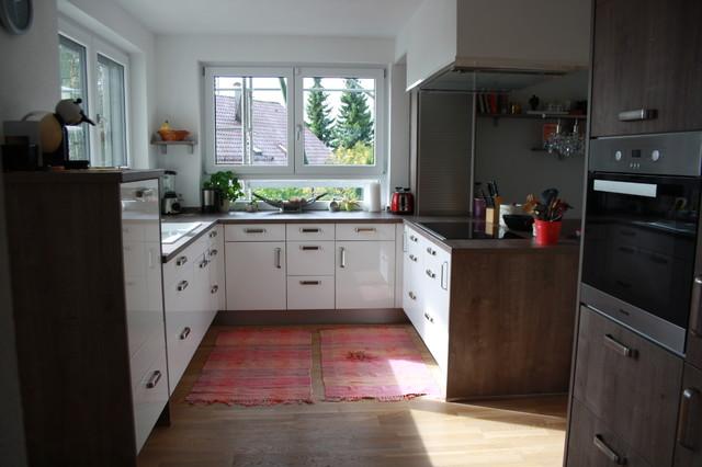 offene sch ne k che in nassach contemporary kitchen other metro by bohn k chen. Black Bedroom Furniture Sets. Home Design Ideas