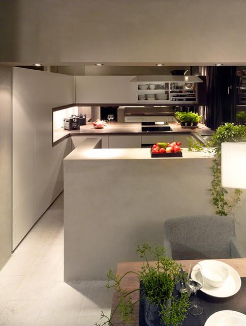 palazzo cubico modern k che frankfurt am main von. Black Bedroom Furniture Sets. Home Design Ideas