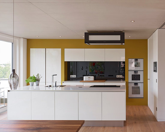 Mustard Yellow Kitchen Design Ideas, Remodels & Photos