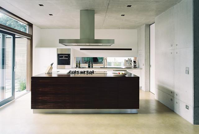 pavillons im park modern k che other metro von markus gentner att architekten. Black Bedroom Furniture Sets. Home Design Ideas