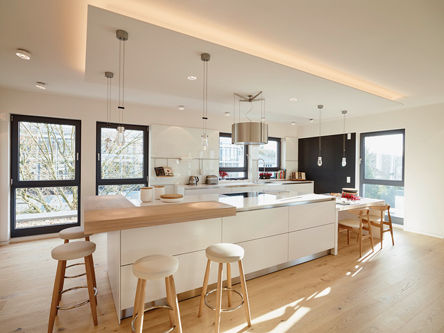 Penthouse kücheninsel   contemporary   kitchen   frankfurt   by ...