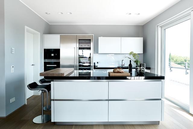 penthouse rheinlandpfalz  modern  küche  frankfurt am