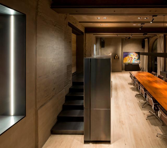 Küche Raumteiler raumteiler mit küche und dj pult tombak eiche stahl