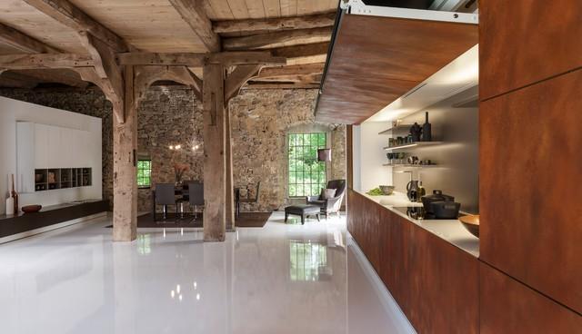 WARENDORF | Hidden Kitchen - Rustic - Kitchen - Other - by Warendorf ...