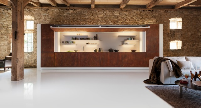 WARENDORF | Hidden Kitchen Rustic Kitchen