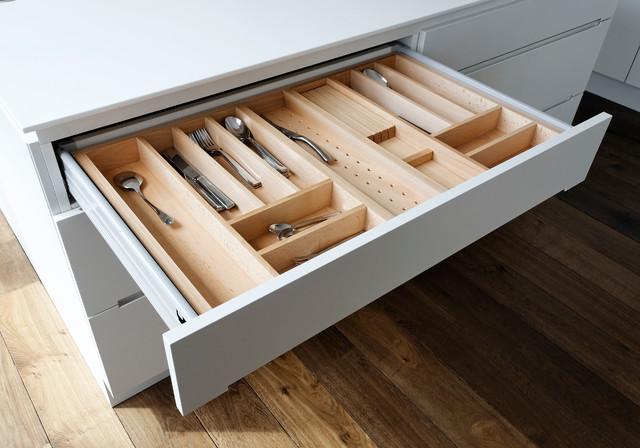 schubladen mit griffmulden drawers with recessed grips modern k che hamburg von. Black Bedroom Furniture Sets. Home Design Ideas