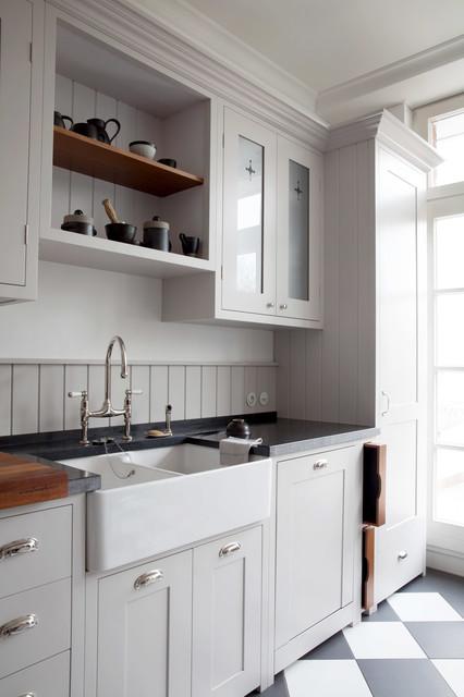 no 240 landhausstil k che d sseldorf von woodworker gmbh co kg. Black Bedroom Furniture Sets. Home Design Ideas