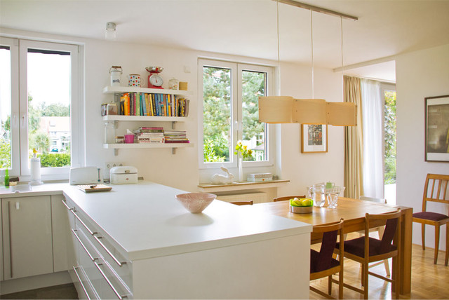Remodeling house in Germany eclectic-kitchen