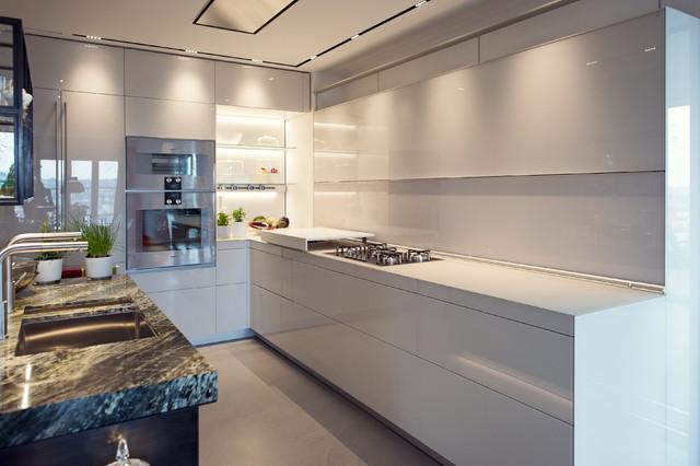 Umbau Küche/Eßzimmer - Modern - Küche - Frankfurt am Main ...