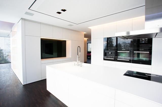 Villa an der bergstraße minimalistisch küche frankfurt am