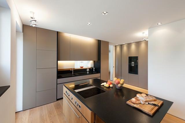 Innenarchitektur Küche villa g minimalistisch küche münchen innenarchitektur rathke