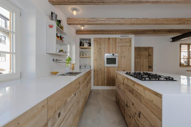Vom Boden zur Küche - Industrial - Küche - München - von ...
