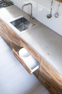 whh | wohnung wilhelmshavener - spüle edelstahl - modern - küche, Möbel