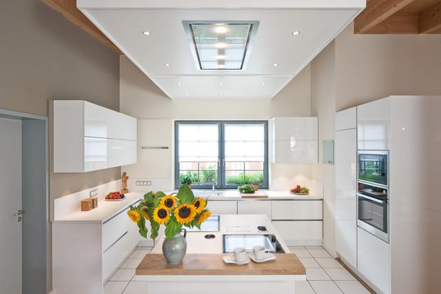 Wohnen im Gartenhaus - Modern - Küche - Sonstige - von ... | {Moderne küchen g form 5}