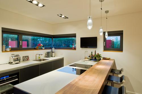 einbaustrahler k che. Black Bedroom Furniture Sets. Home Design Ideas