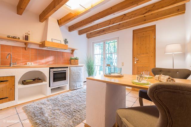 Lampen Ibiza Style : Wohnküche ehemaliges fischerhaus im ibiza style landhausstil