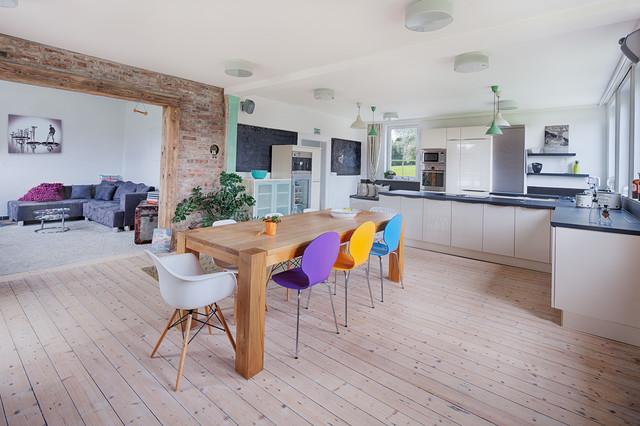 Wohnküche Contemporary Kitchen