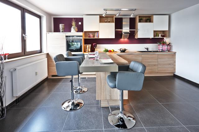 Wohnküche Mit Küchentresen