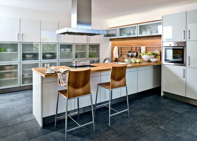 Kiveda Küchen wohnküche mit theke klassisch küche berlin kiveda