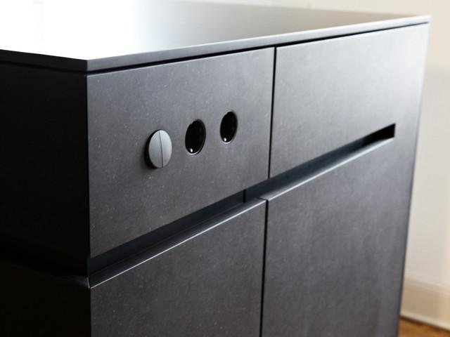 wohnung m modern k che m nchen von ifub. Black Bedroom Furniture Sets. Home Design Ideas