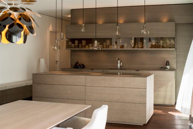 wohnung westwood modern k che m nchen von vonmeiermohr architekten. Black Bedroom Furniture Sets. Home Design Ideas