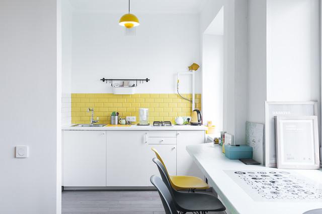 Apartament scandinavo-cucina