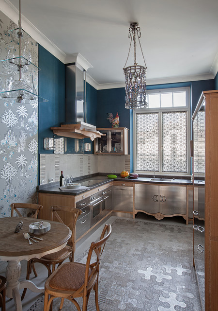 Eclectic kitchen moscow by for Kitchen ideas eclectic