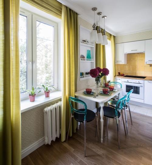 skandinavskiy kuhnya - 4 квартиры, в которых вы не узнаете хрущевку