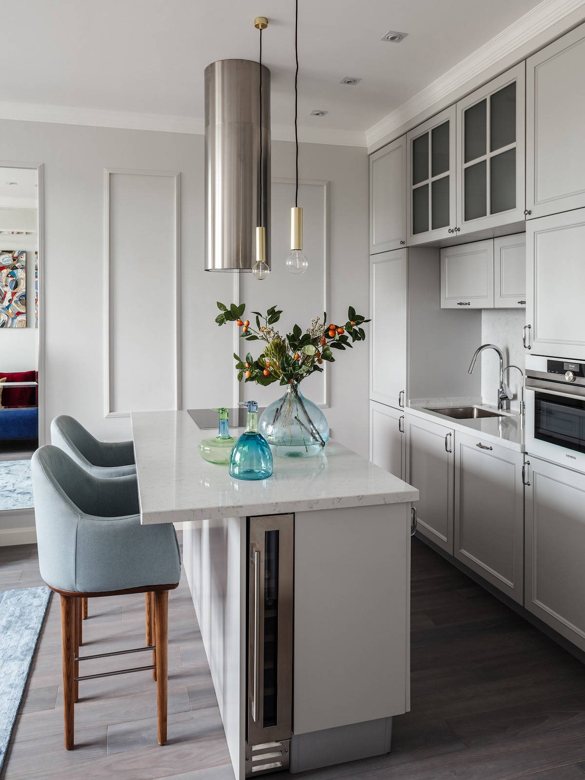 75 Beautiful Small Kitchen With Gray Cabinets Pictures Ideas January 2021 Houzz